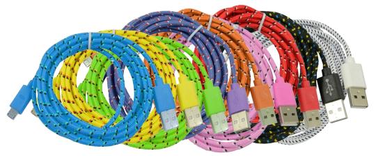 USB Kabel 2m (A-Stecker <=> Micro-USB)